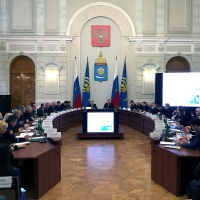 BT SVAP LLC at the special meeting of the Board of the Ministry of Industry of Astrakhan